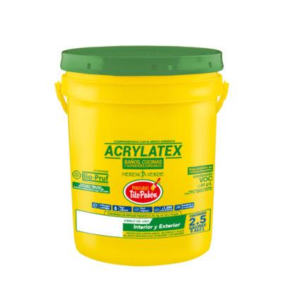 acrylatex pintura tito pabon
