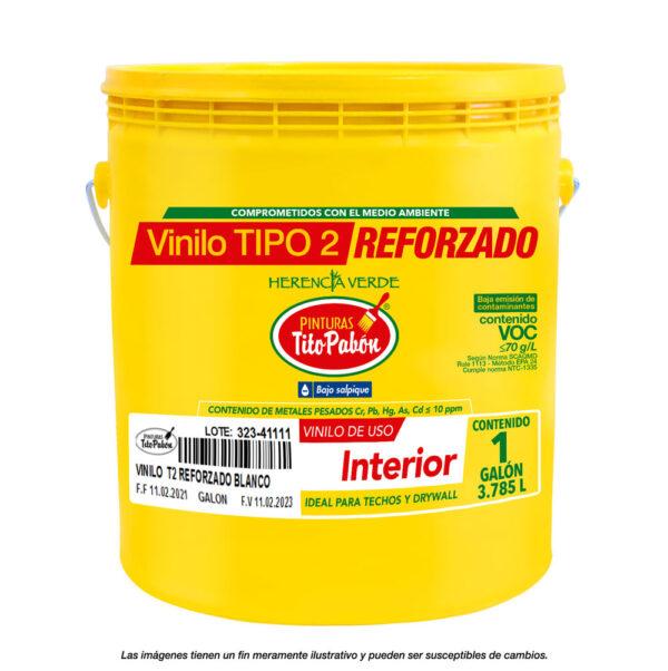 Vinilo tipo 2 reforzado galón