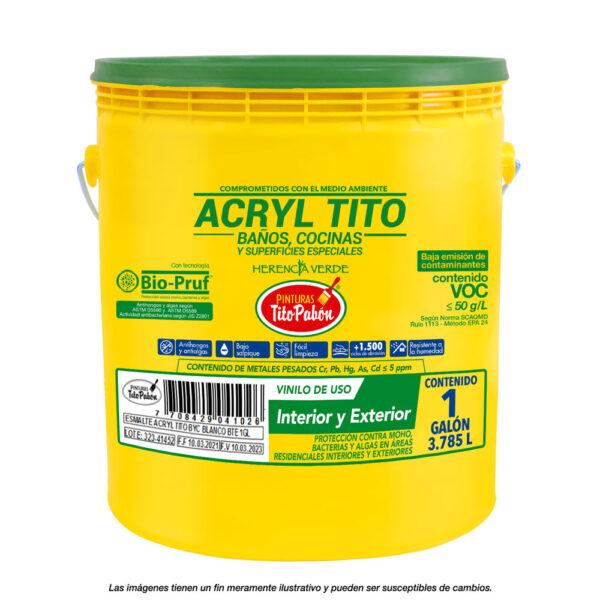Acryl tito galón
